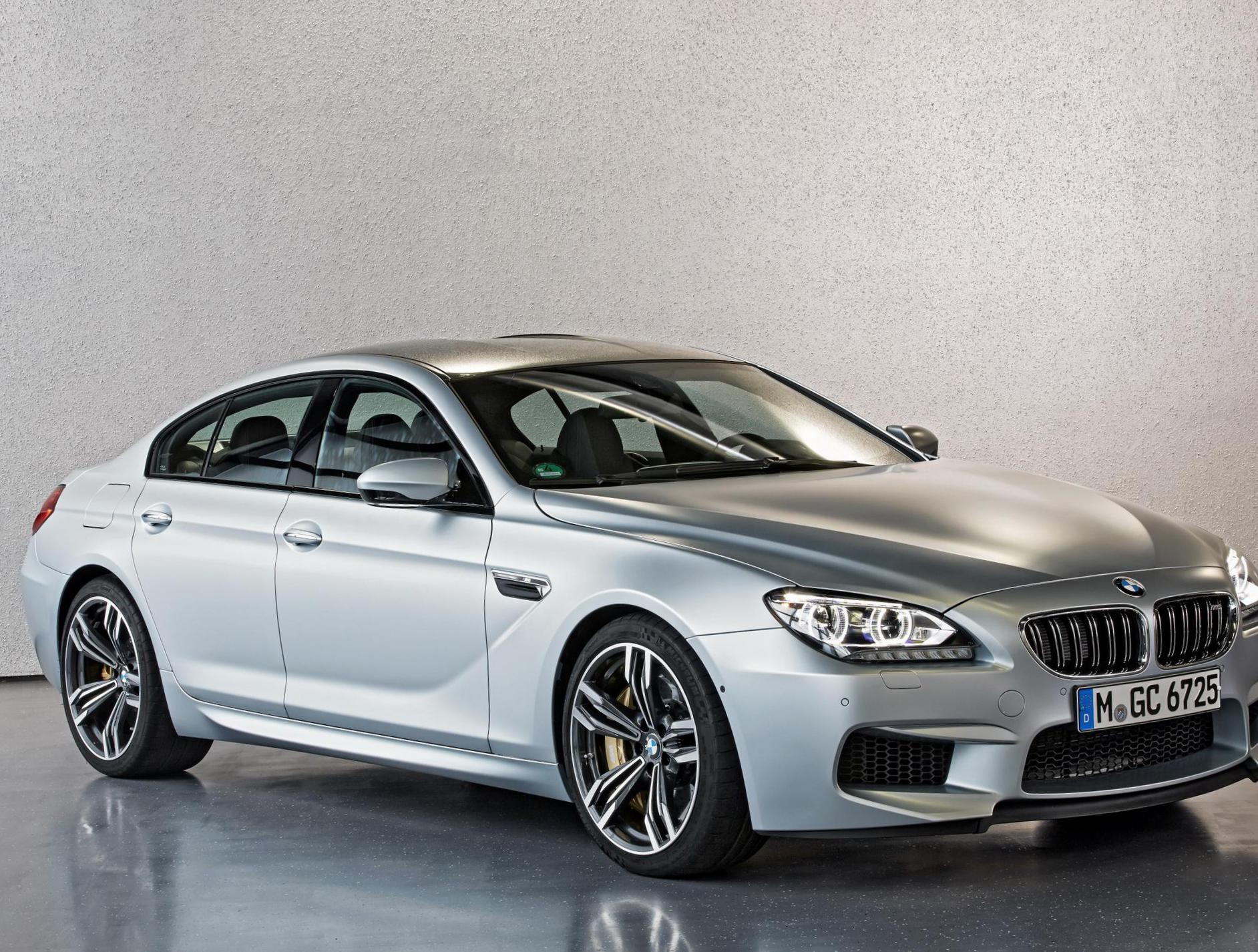 BMW M6 Gran Coupe (F06) usa 2015