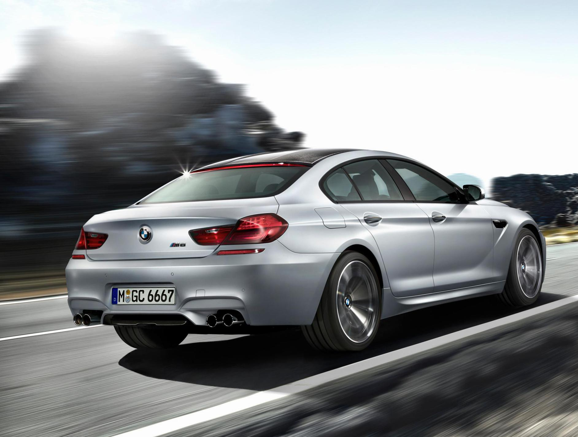 M6 Gran Coupe (F06) BMW lease sedan