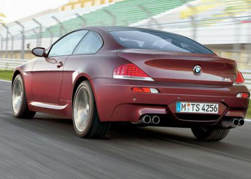 BMW M6 Coupe (E63) review 2011