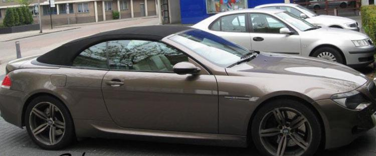 BMW M6 Cabrio (E64) parts hatchback