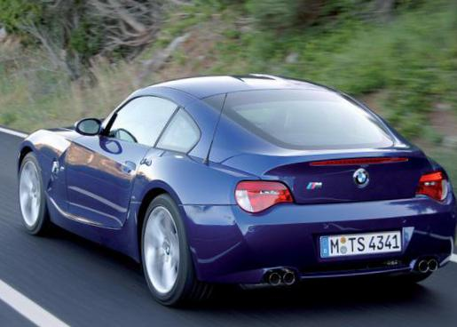 BMW Z4 Coupe (E85) parts suv