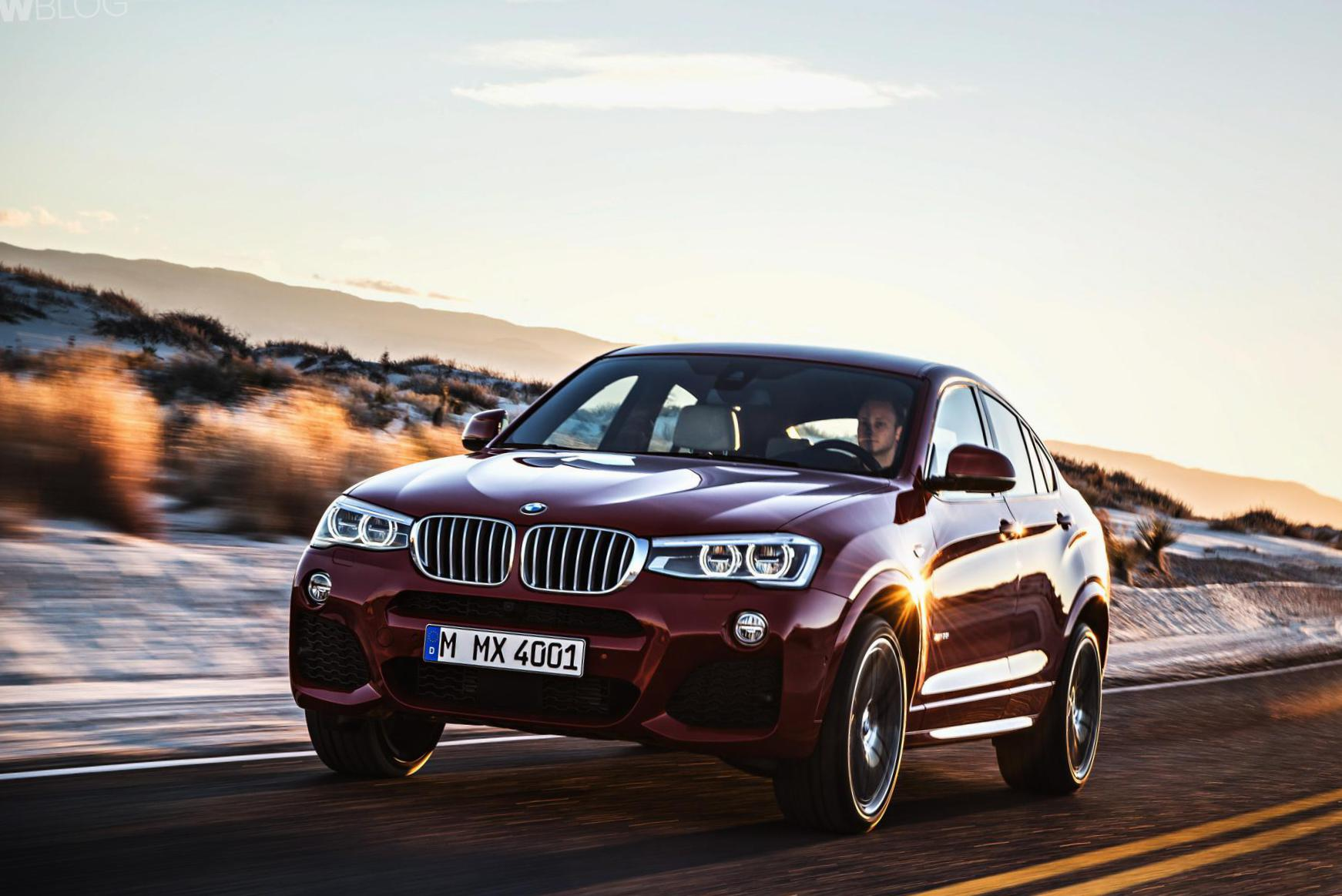 BMW X4 (F26) how mach coupe
