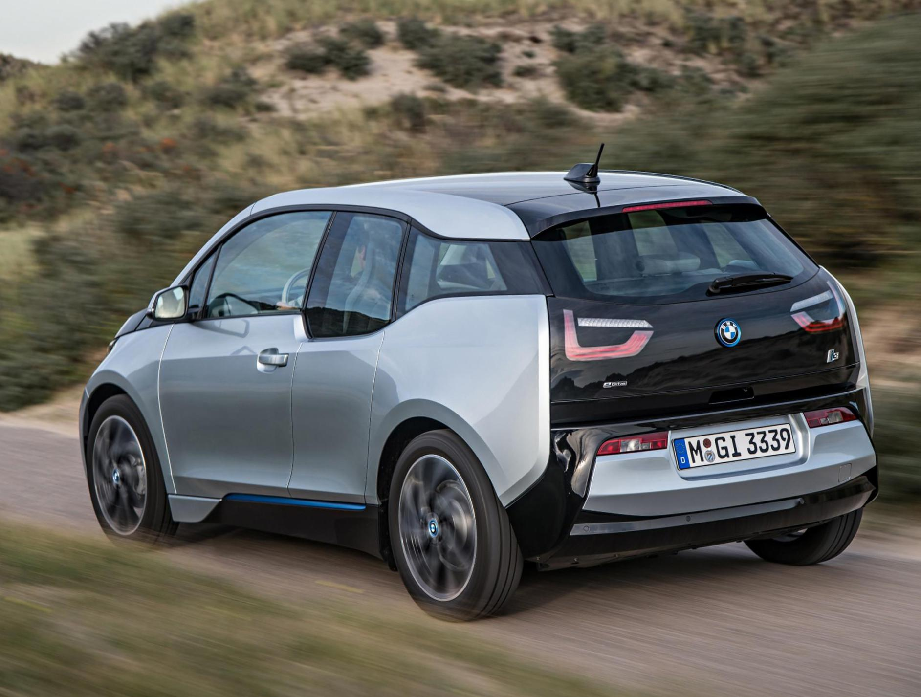 BMW i3 model wagon