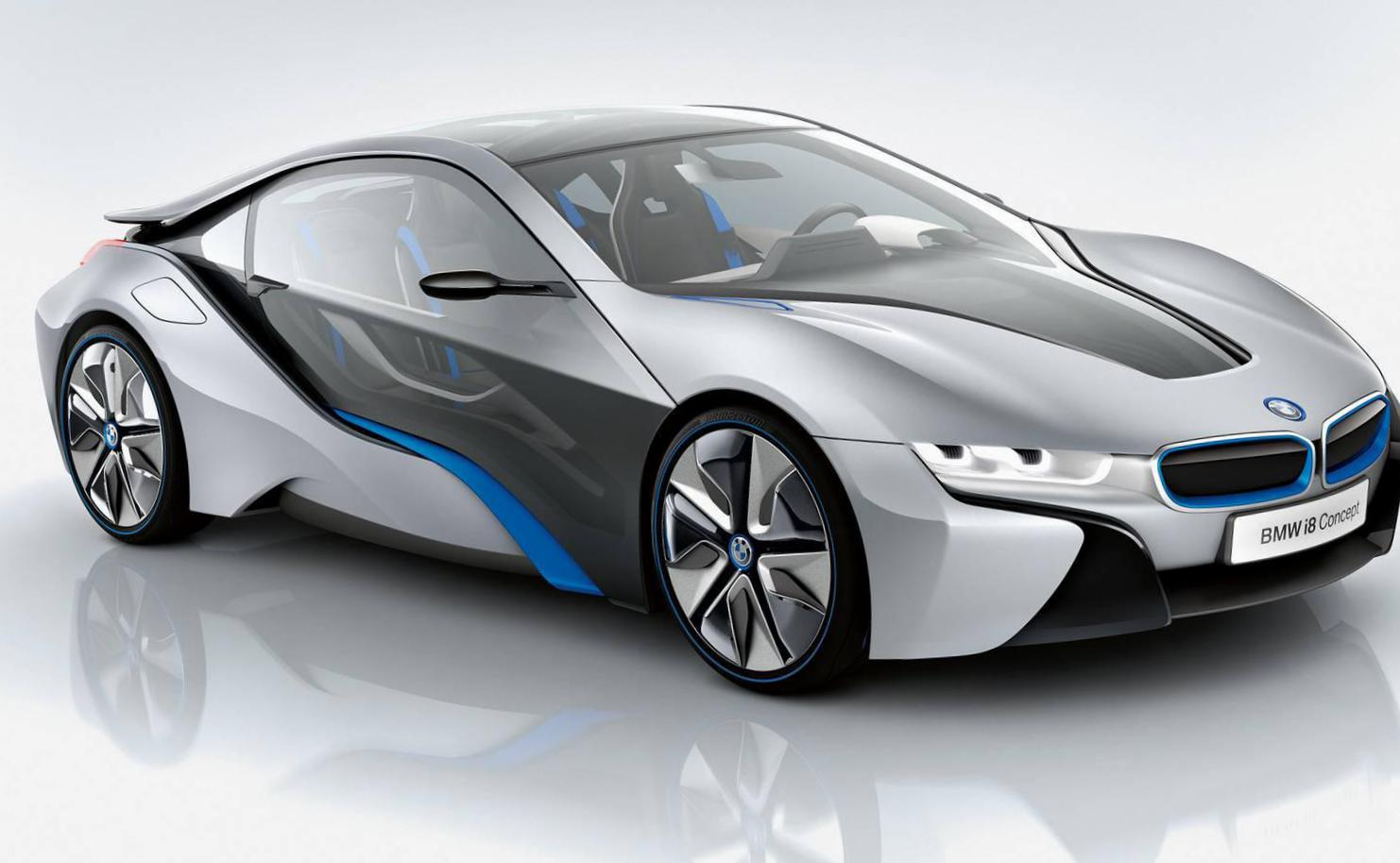 BMW i8 models hatchback