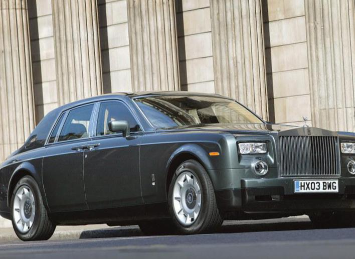 Rolls-Royce Phantom lease 2013