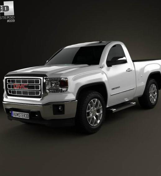 GMC Sierra Regular Cab configuration 2013
