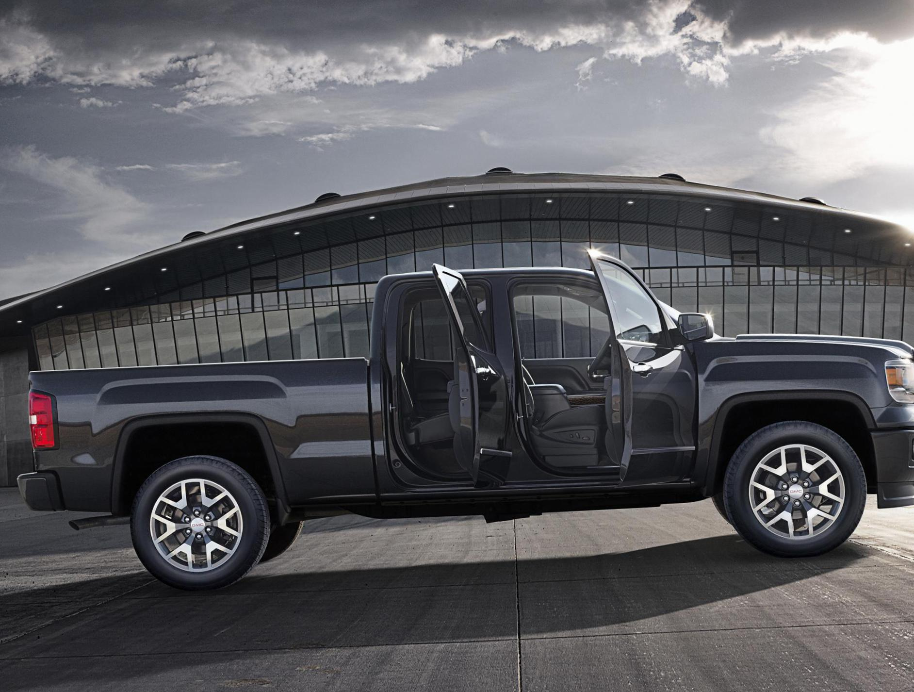 GMC Sierra Double Cab models 2013