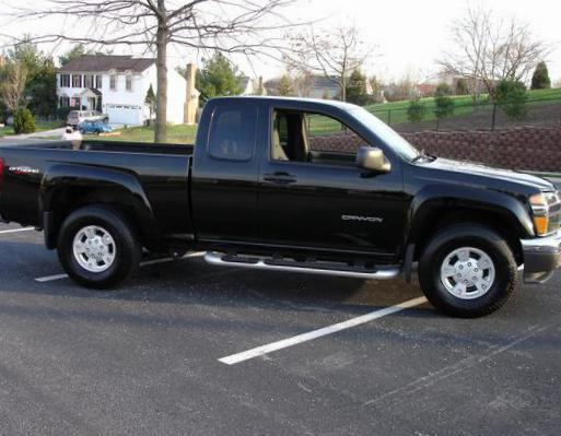 GMC Canyon Regular Cab auto hatchback