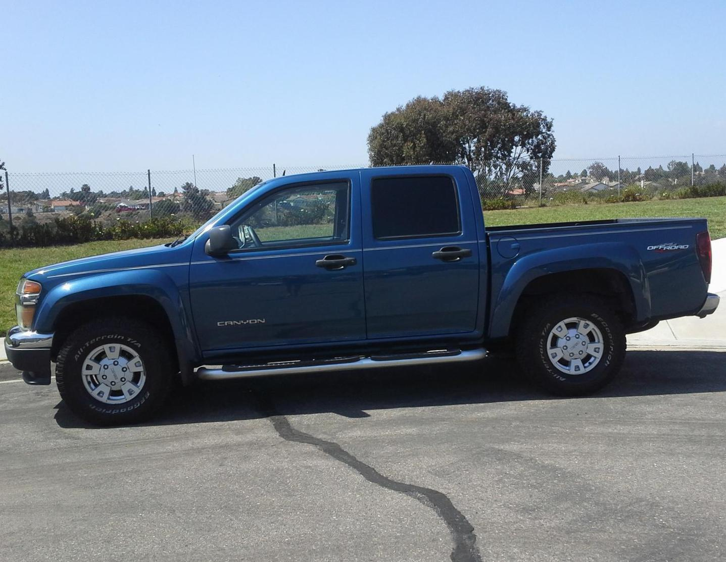 GMC Canyon Crew Cab Specifications suv
