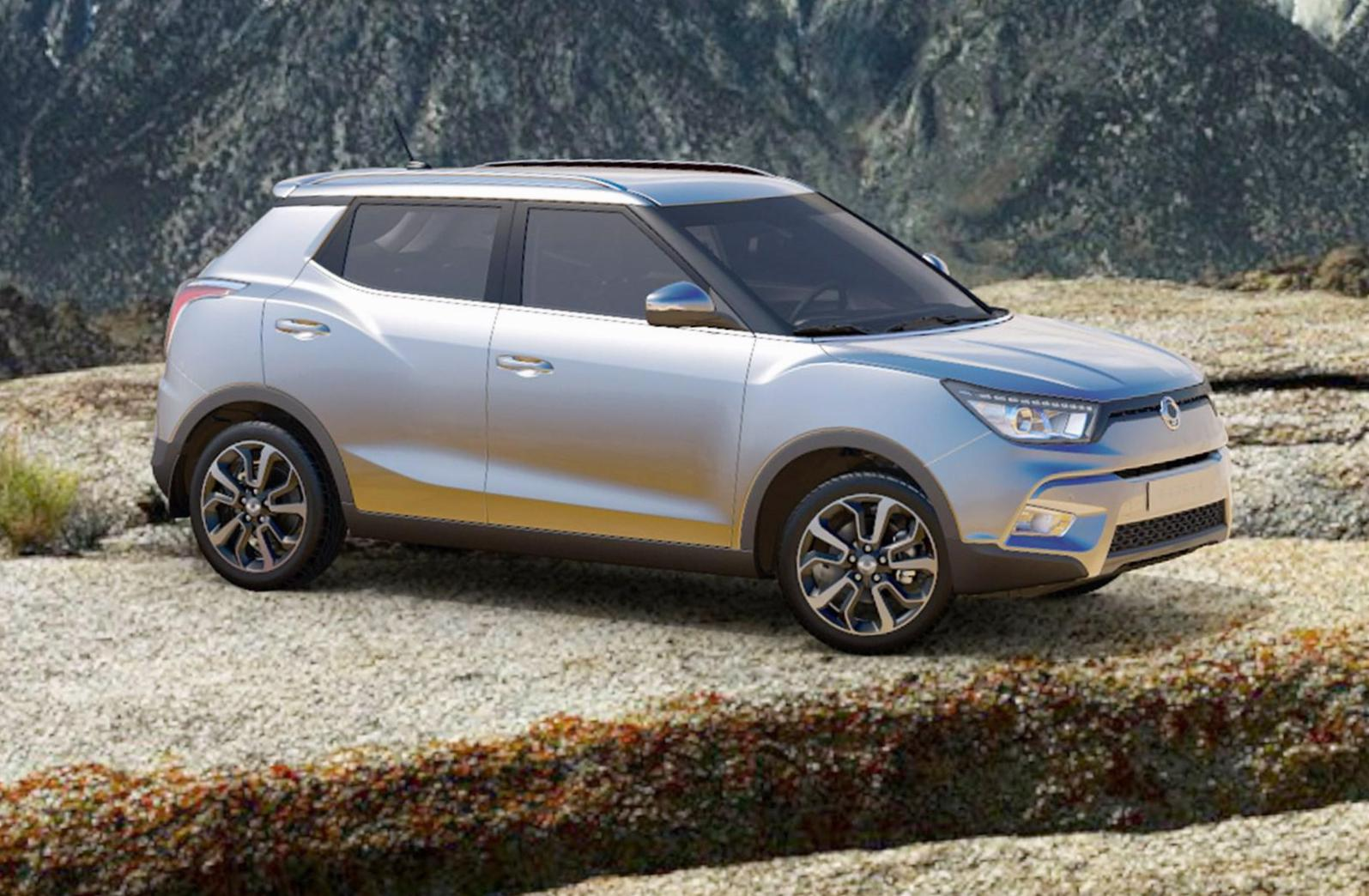 Tivoli SsangYong for sale 2015