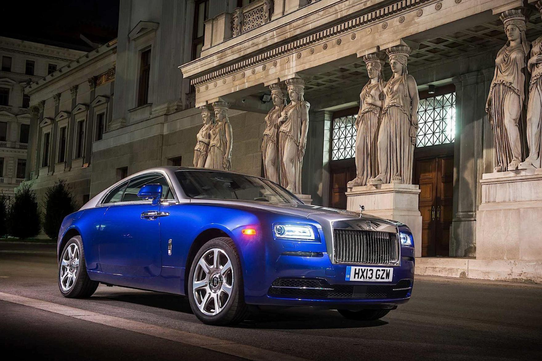 Wraith Rolls-Royce review 2010