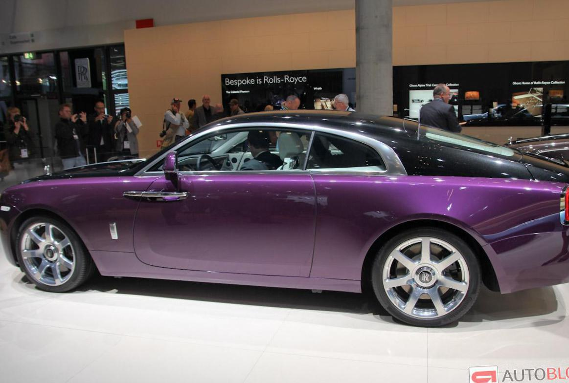 Wraith Rolls-Royce Specifications pickup