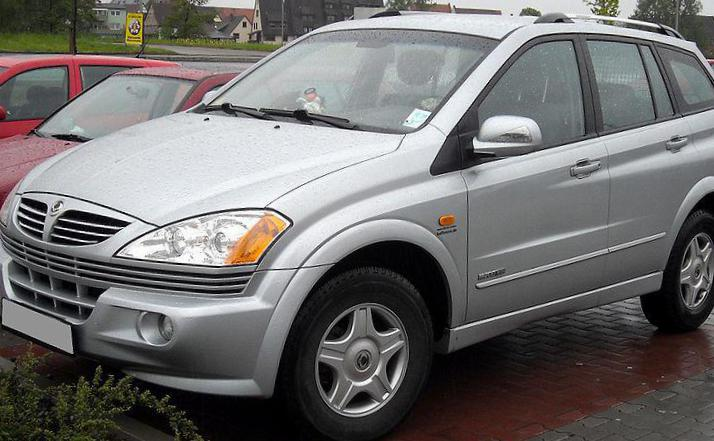 Kyron SsangYong used suv