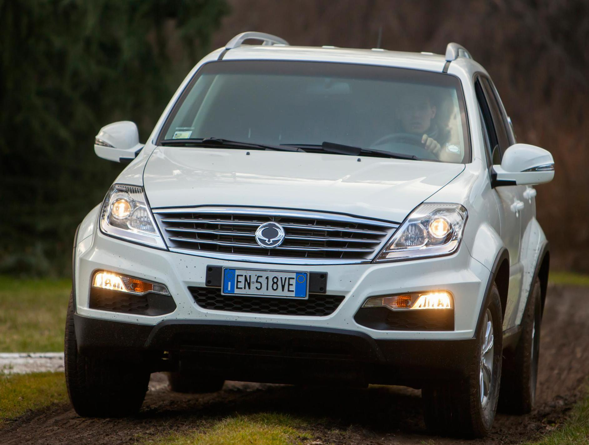 Rexton W SsangYong approved 2011
