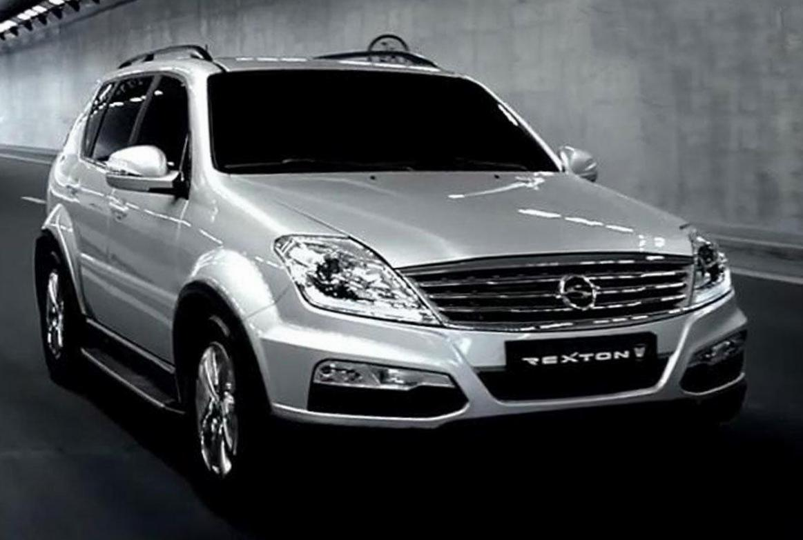 SsangYong Rexton W approved 2013