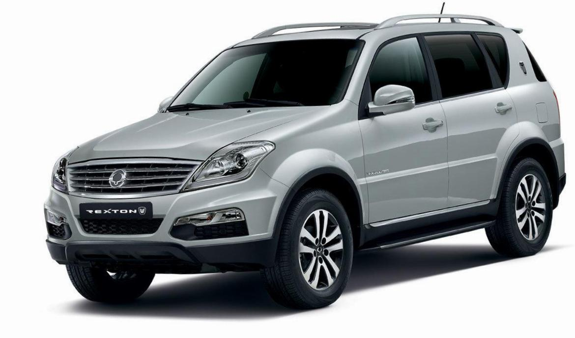 SsangYong Rexton W how mach coupe