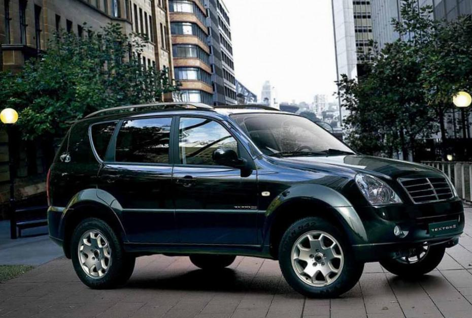 Rexton II SsangYong Specifications 2012