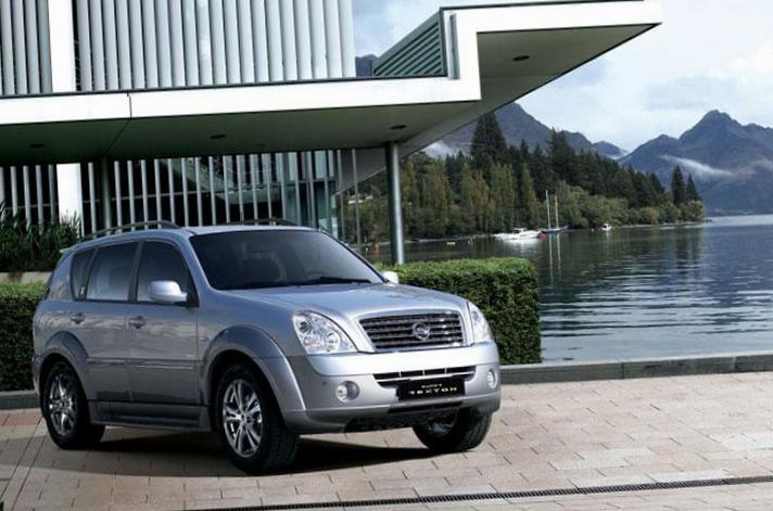 SsangYong Rexton II approved 2012