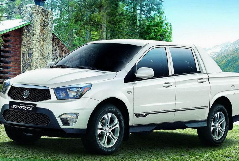 Actyon SsangYong how mach 2015