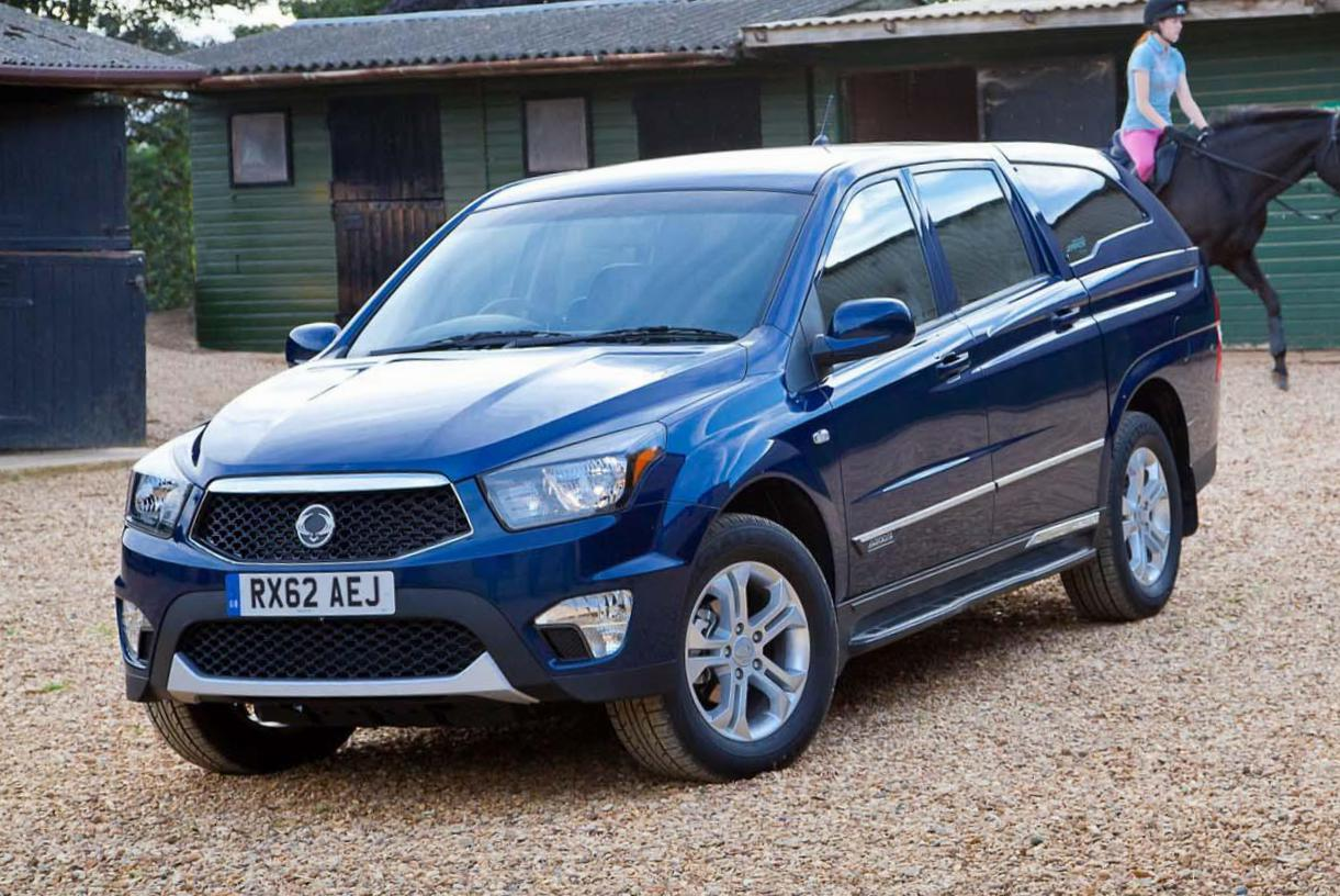 Actyon SsangYong new hatchback