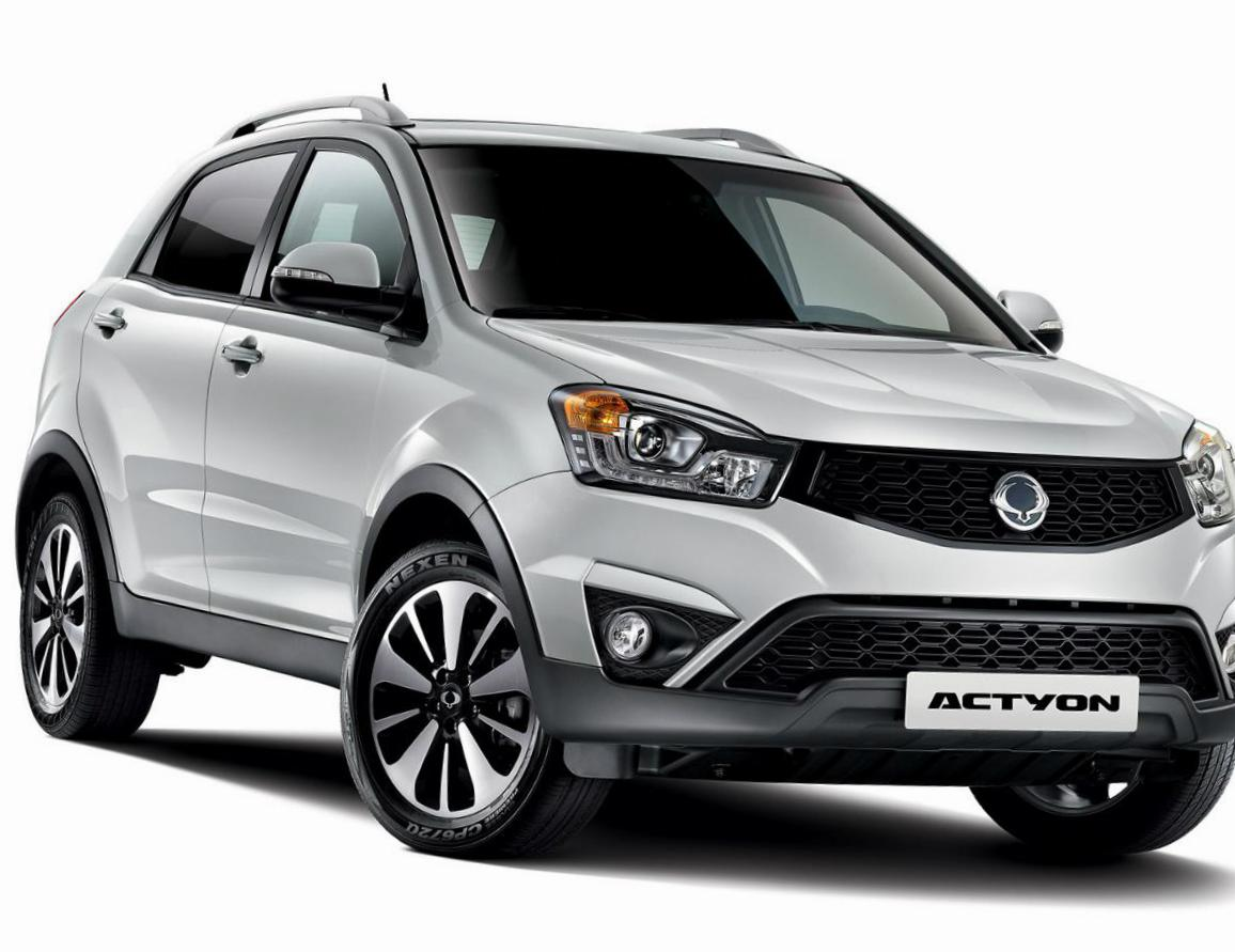 SsangYong Actyon specs 2013