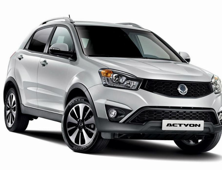 Actyon SsangYong lease 2014