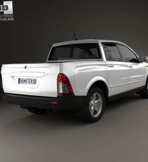 Actyon SsangYong models 2011