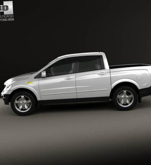 SsangYong Actyon lease hatchback