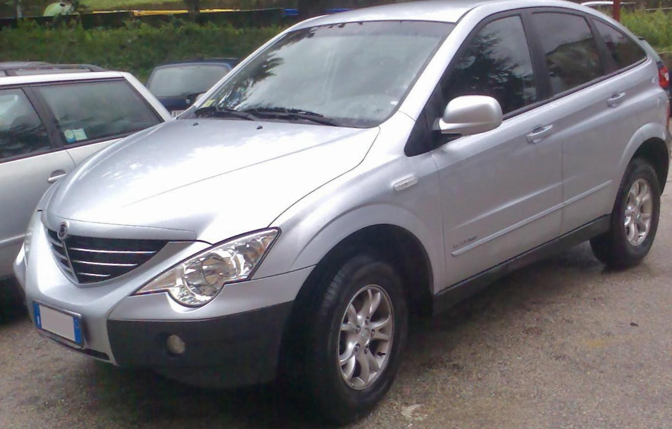 Actyon Sports SsangYong lease 2006