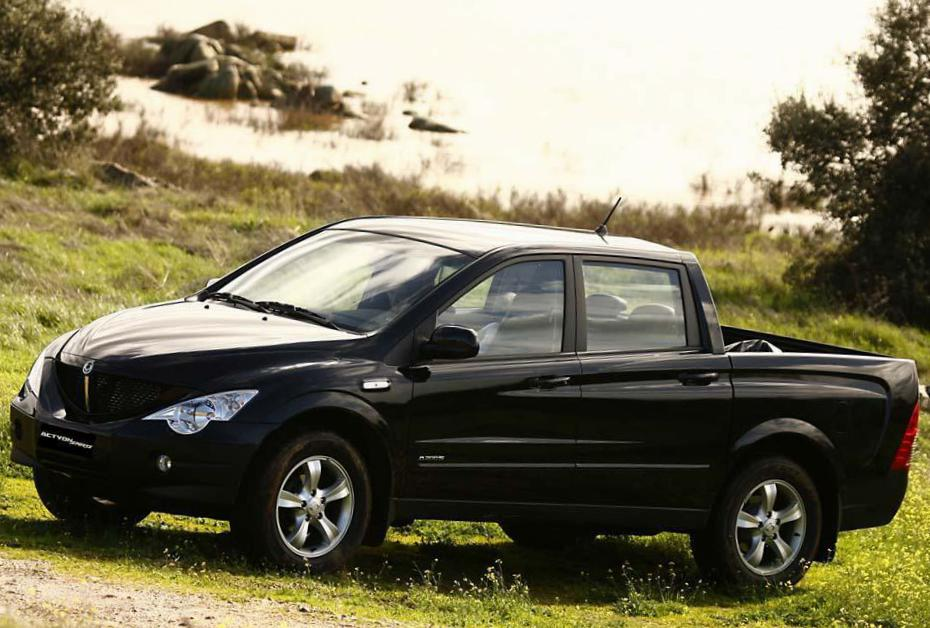 Ssangyong Actyon Sports Photos And Specs Photo Actyon Sports