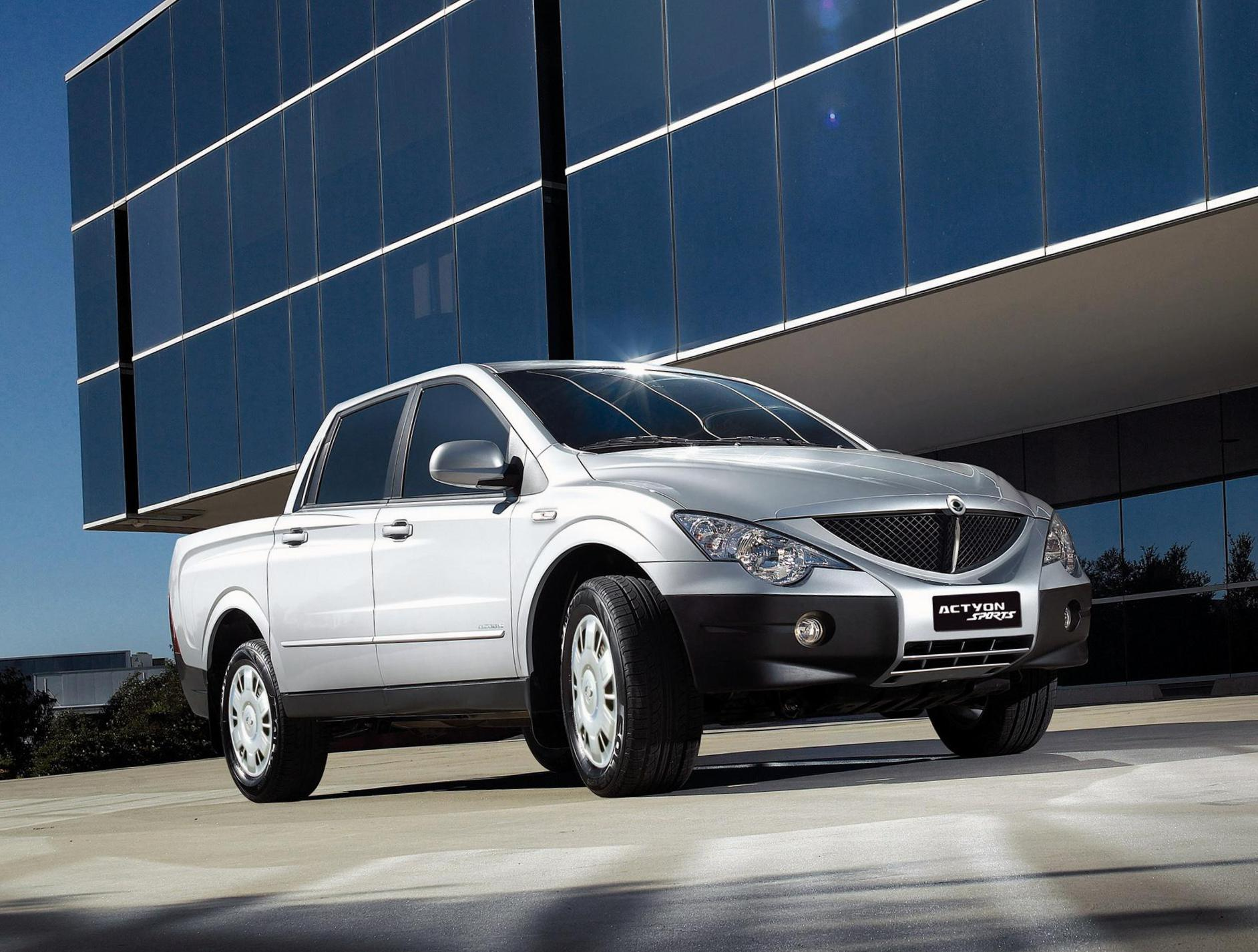 Actyon Sports SsangYong review sedan