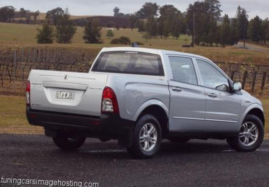 Actyon Sports SsangYong specs 2010
