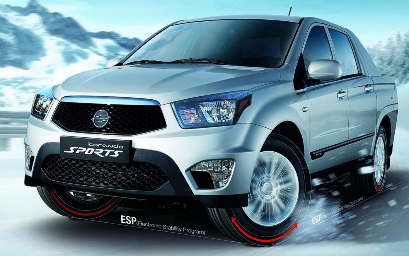 SsangYong Actyon Sports auto 2013