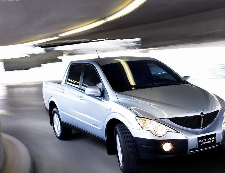 SsangYong Actyon Sports cost 2010