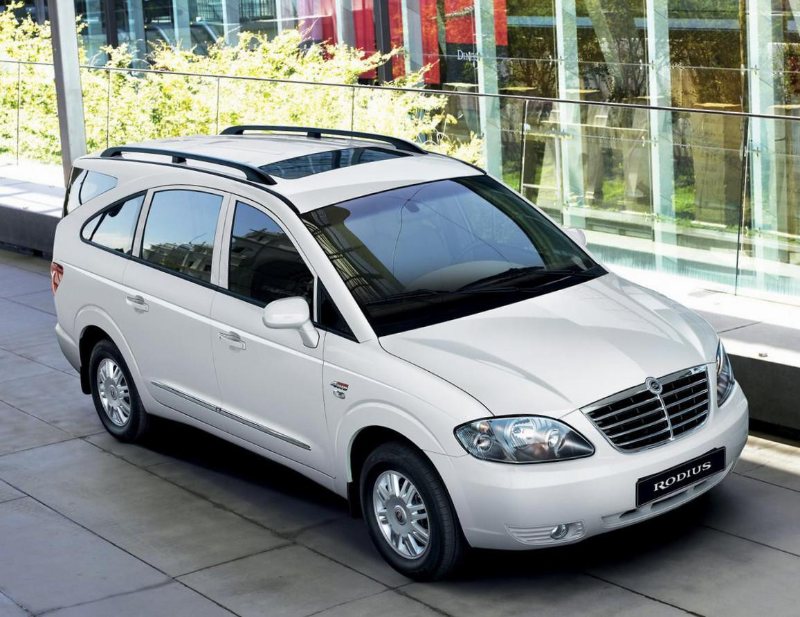 Rodius SsangYong lease suv