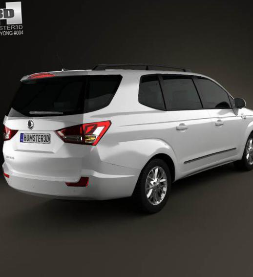 SsangYong Rodius approved 2011