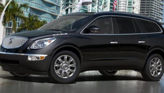 Buick Enclave Characteristics suv