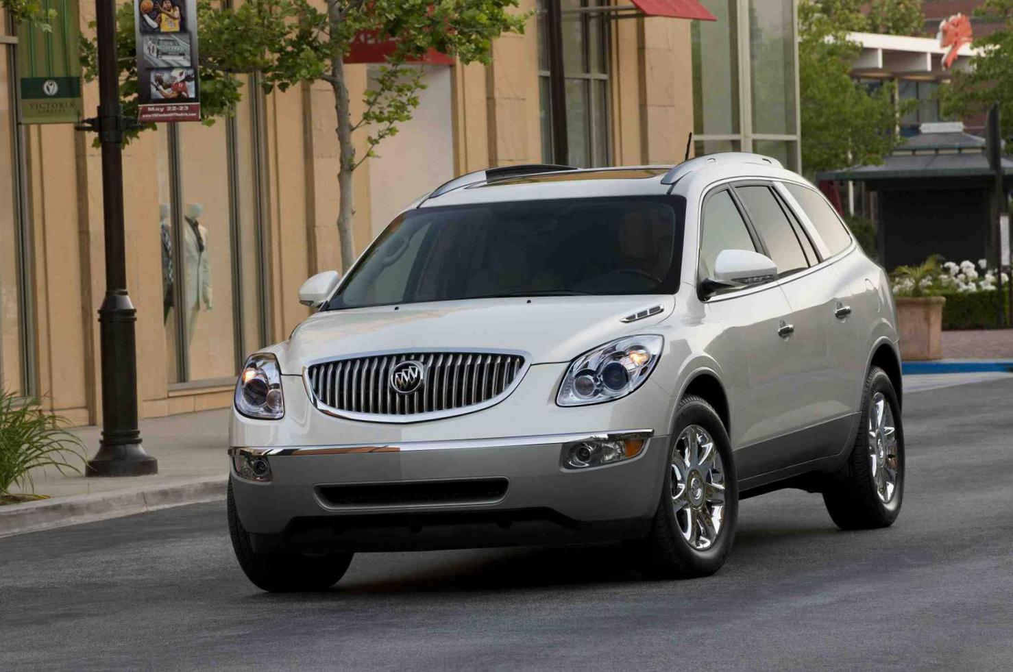 Enclave Buick Specifications 2012