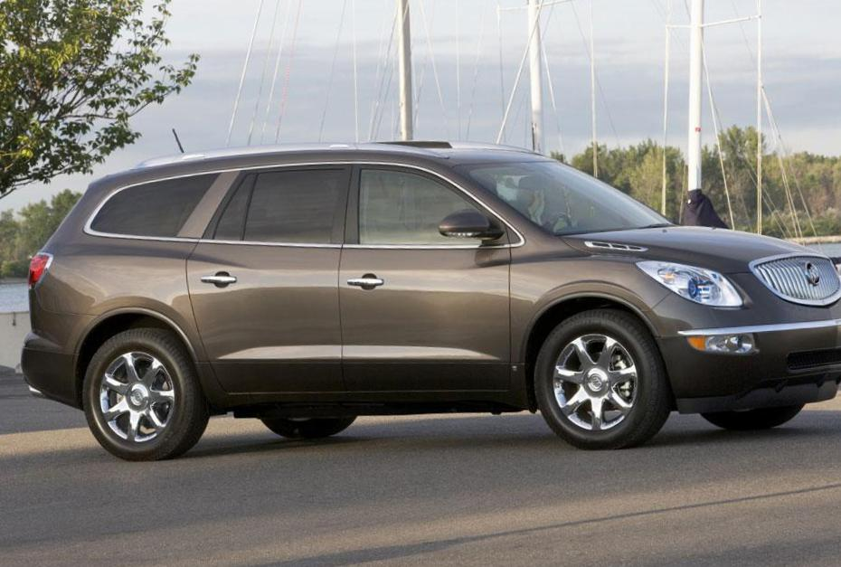 Buick Enclave how mach 2012