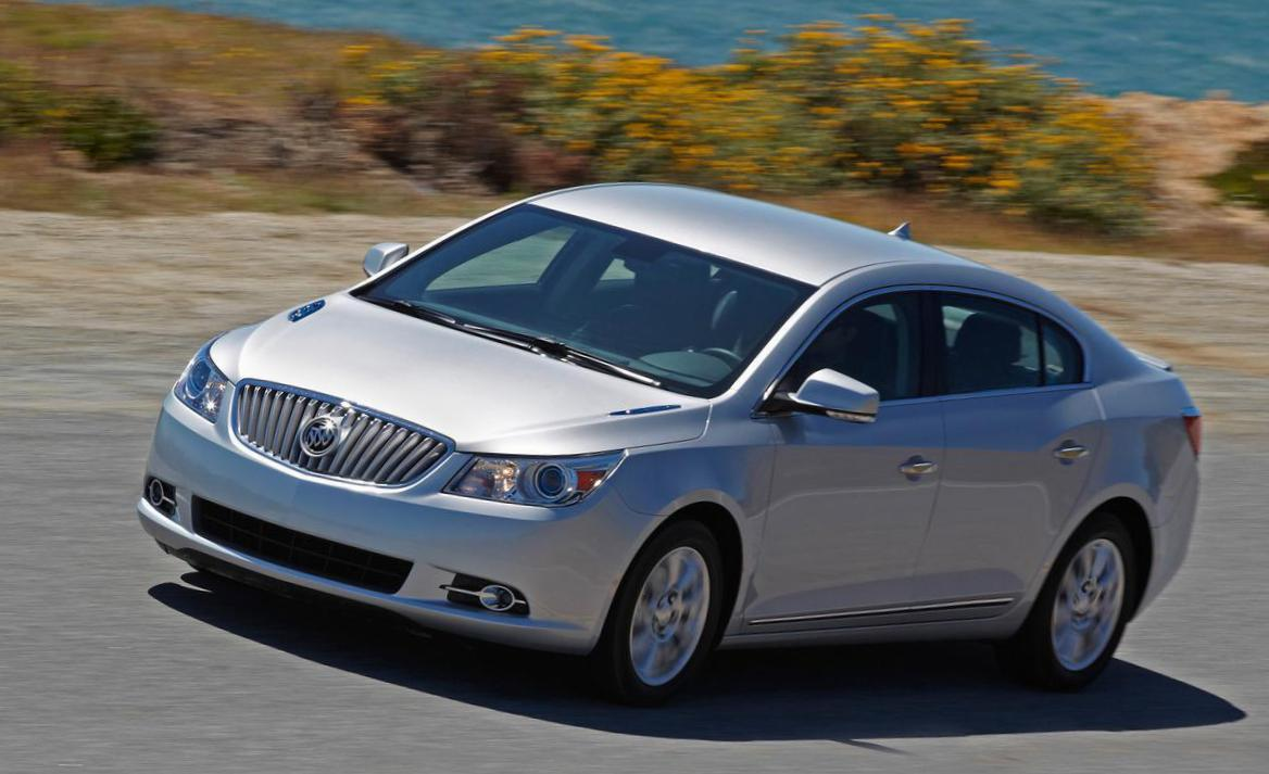 LaCrosse Buick review 2008