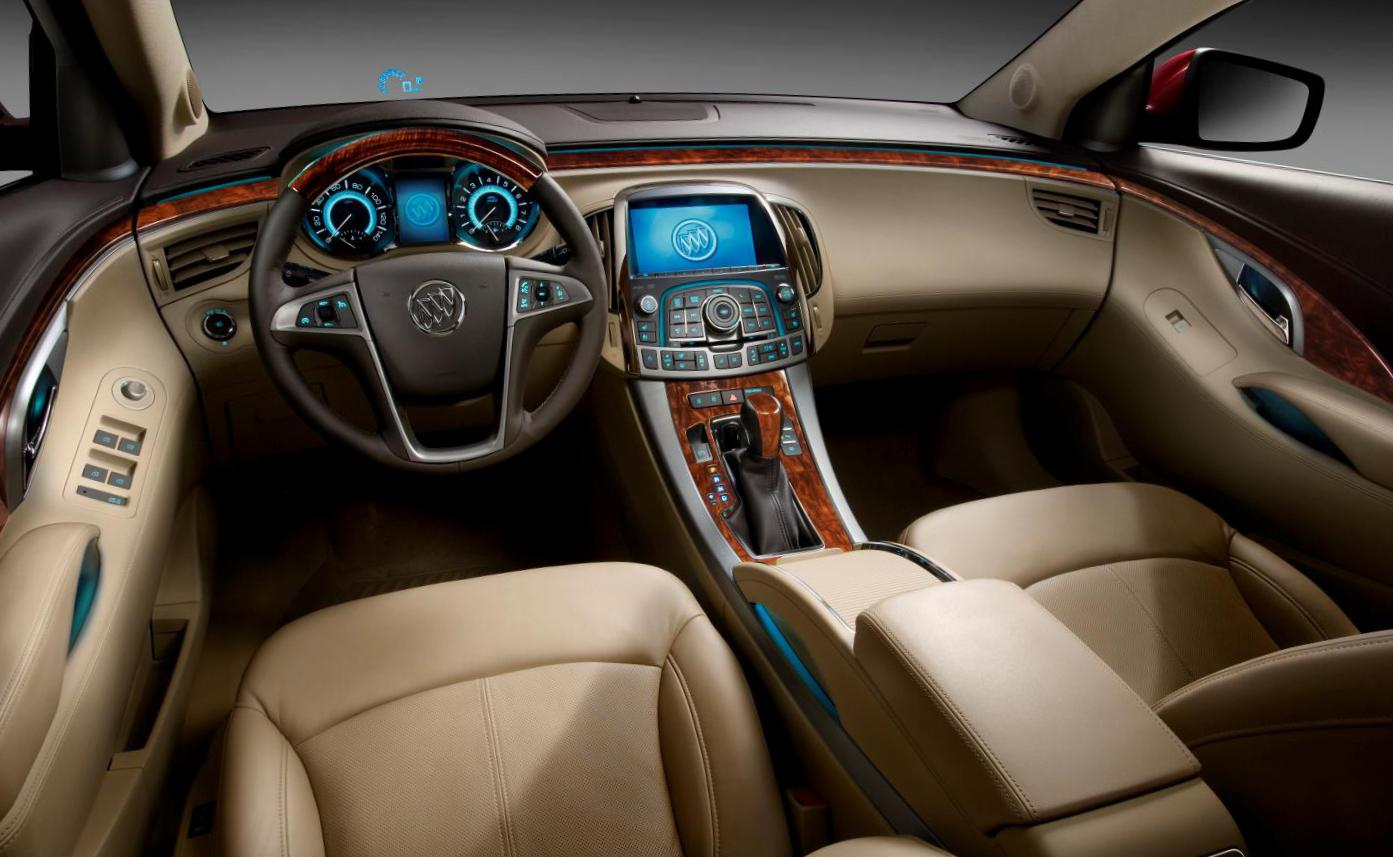 Buick LaCrosse configuration sedan