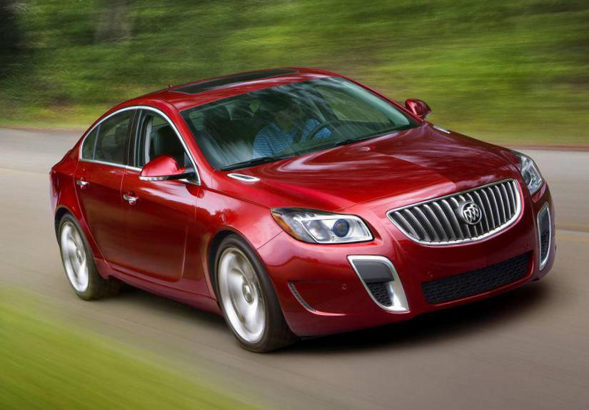Buick Regal specs 2008