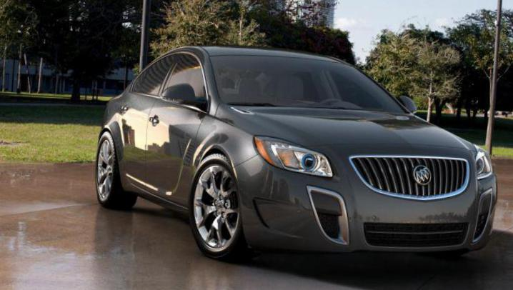 Buick Regal GS tuning sedan