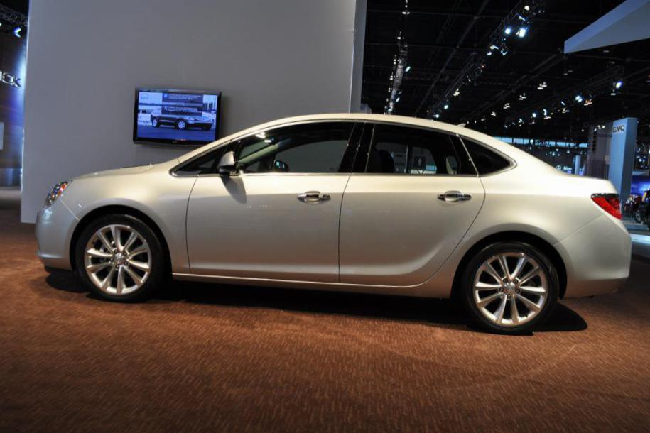 Buick Verano Specifications sedan