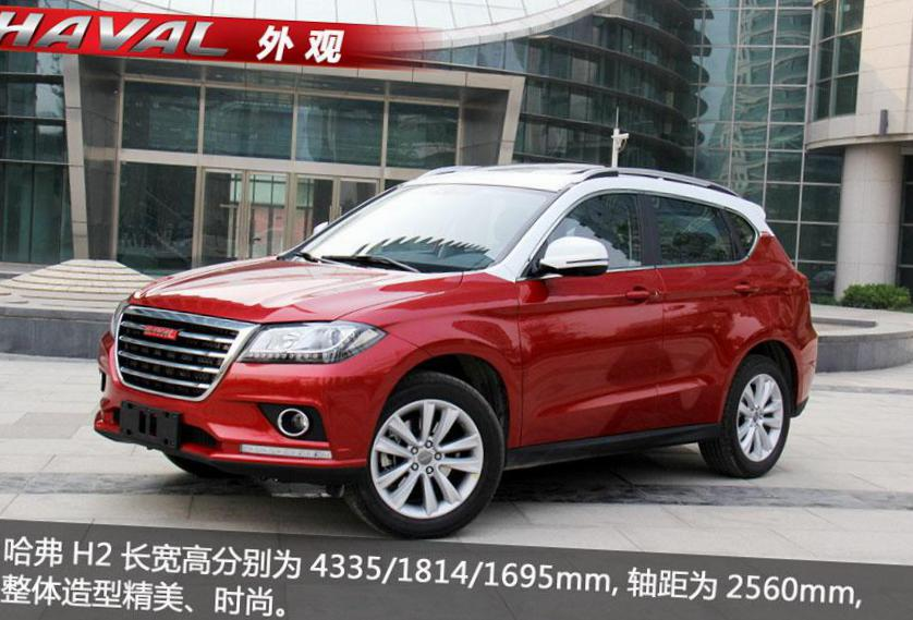 Haval H2 Great Wall model suv