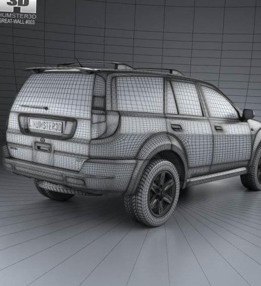 Haval H3 Great Wall models 2012