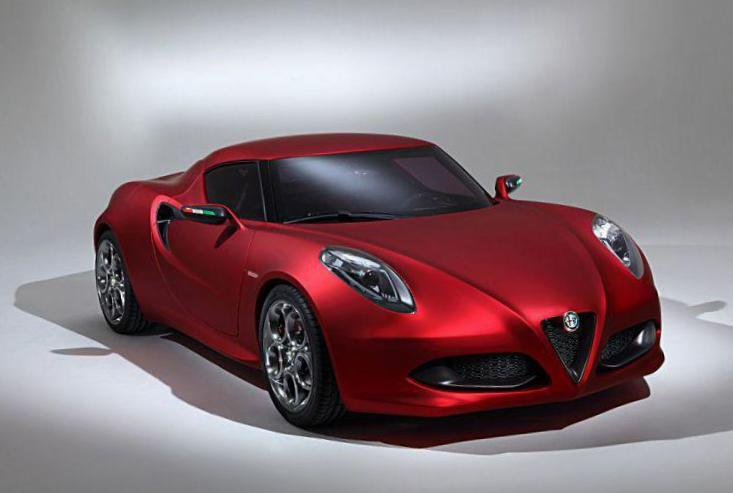 4C Alfa Romeo tuning sedan