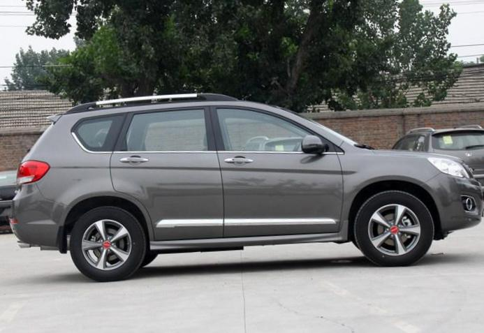 Great Wall Haval H6 Sport cost 2012