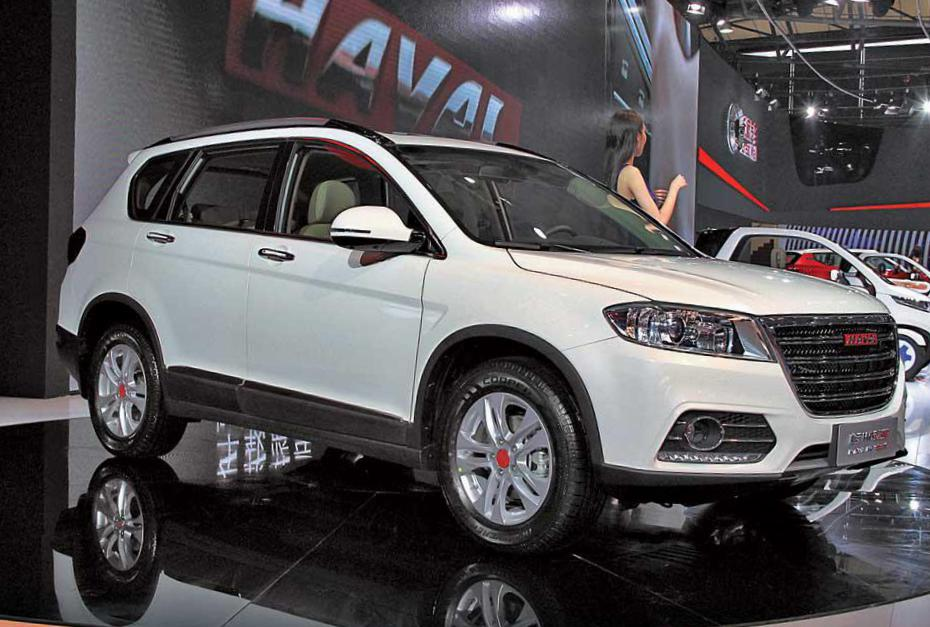 Great Wall Haval H6 Sport tuning 2013