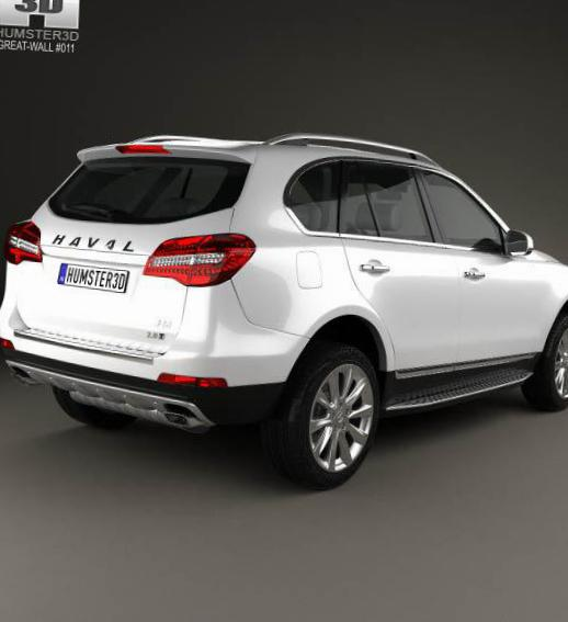 Haval H8 Great Wall cost 2015